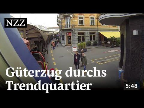 Der Koloss von Zürich West: Mit dem Güterzug durchs Trendquartier