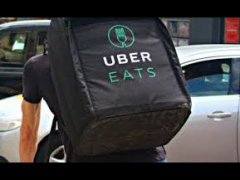 UBER Eats On An Electric Bike! This Is How Much I Made On A Sunday
