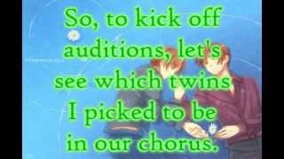 【Auditions CLOSED for Singers】Voca Twin Chorus Auditions!【OPEN FOR ANIMATORS AND ARTISTS】