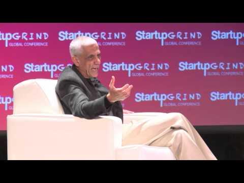 Vinod Khosla (Khosla Ventures) at Startup Grind Global 2016