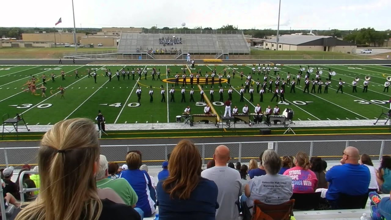 Killeen High School Marching band at Gatesville Marching Festival 10-12-13  Lion King Show