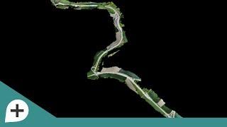 Mapping a Road Construction with an eBee Plus Drone & senseFly Corridor