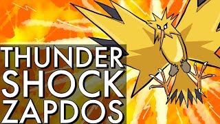 THUNDER SHOCK ZAPDOS | GO BATTLE LEAGUE