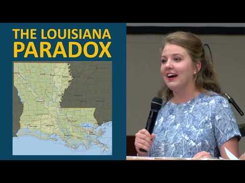 Why Louisiana Stays Poor