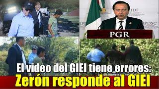 El video del GIEI tiene errores: Tomás Zerón