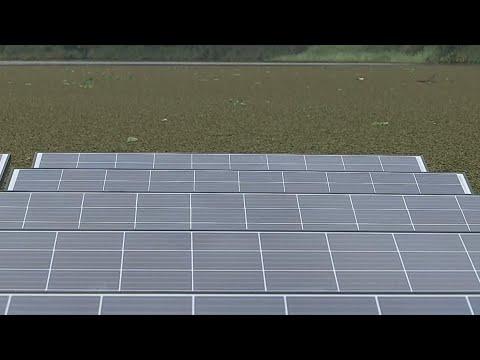 Canal de Panamá le apuesta a los Paneles solares flotantes para ser más verde