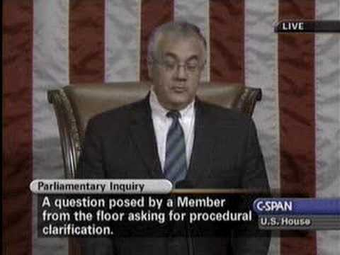Barney Frank Sets Republicans Straight on House Rules
