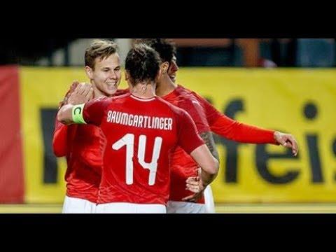 Louis Schaub skills Traum Freistoß Tor Österreich vs Uruguay 2:1 (14/11/2017)
