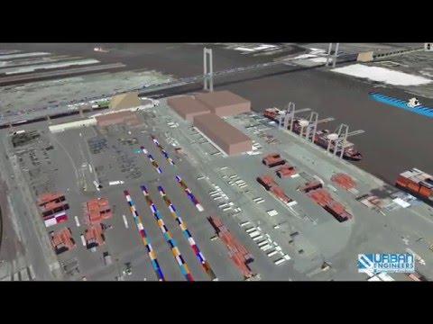 VISSIM Simulation: Marine Terminal