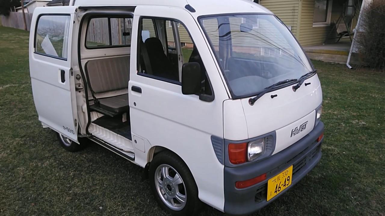 1994 Daihatsu HiJet Deck Van