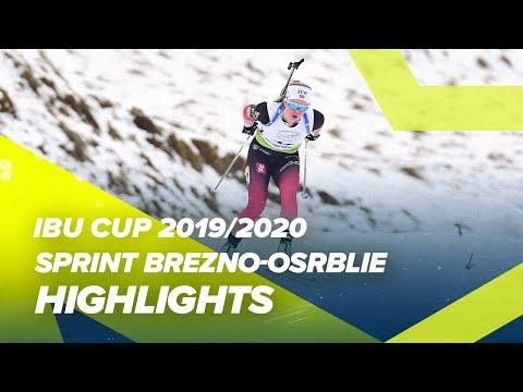 Brezno-Osrblie Highlights Women Sprint IBU Cup 2019/2020