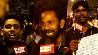 """Jallikattu Marina Protest - """"Youth question TN"""