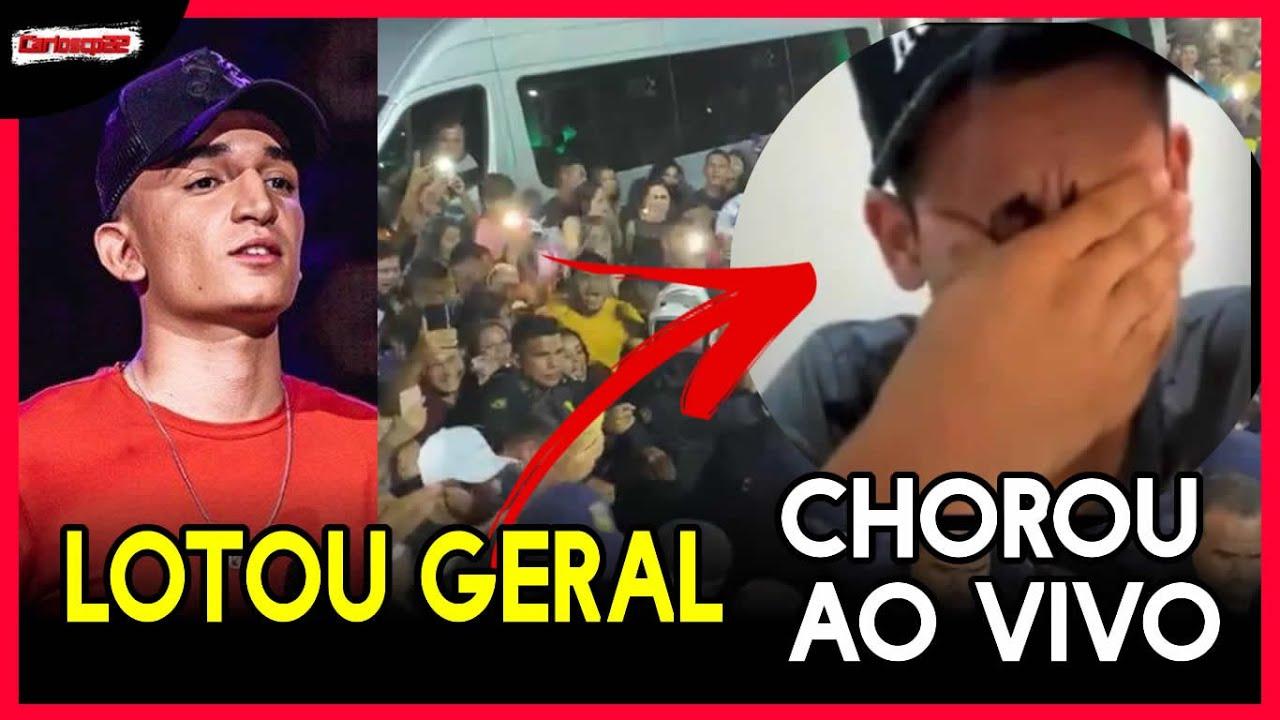 IMPRESSIONANTE João gomes é recebido por multidão no Pará , Cantor parecido com Ze vaqueiro Chora
