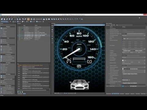 GL Studio 5.1 Customized Workflow - Automotive UI Demonstration