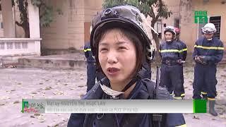 VTC14   5 bóng hồng của biệt đội cứu hộ Thủ đô