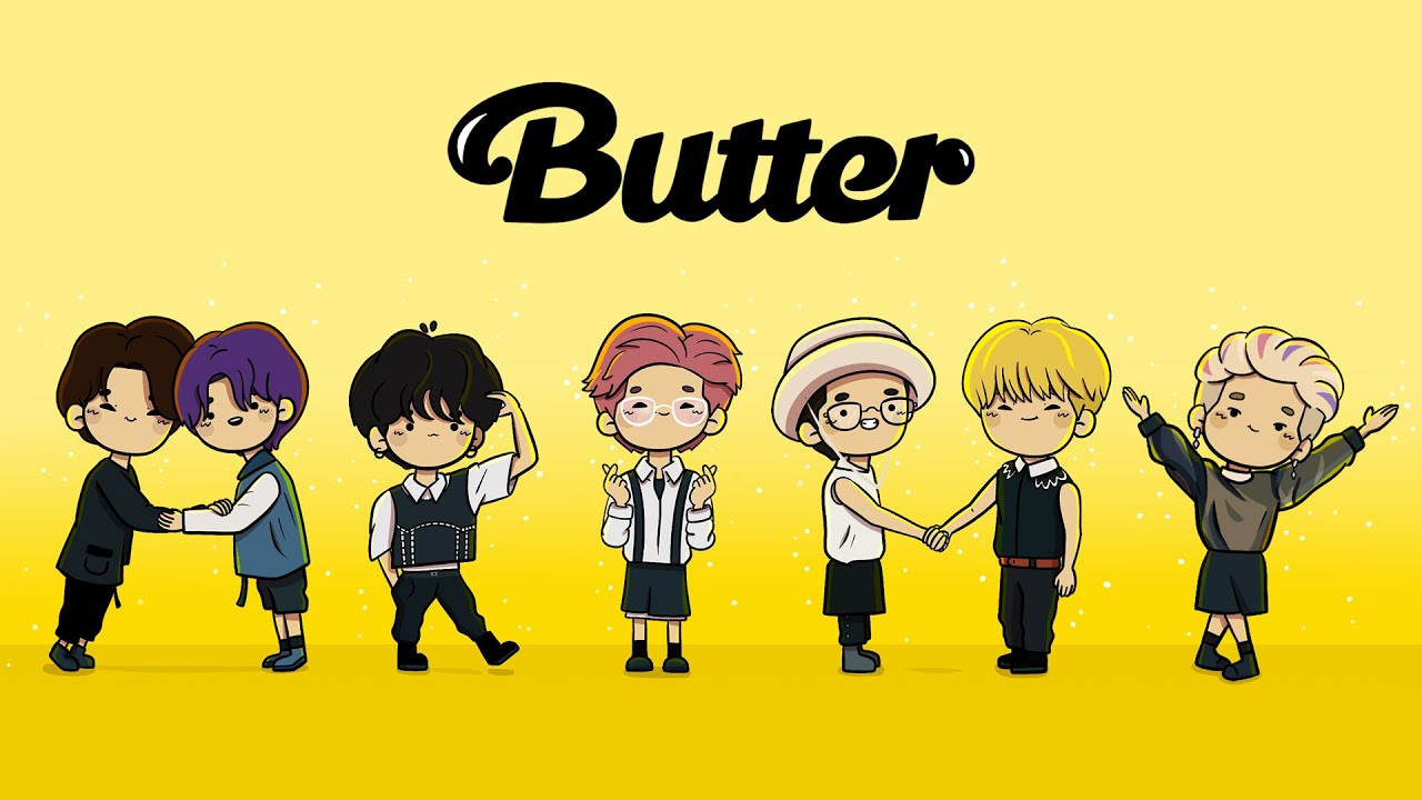 BTS Animation - Butter!