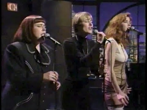 """Wilson Phillips """"Hold On"""" (stereo) on Late Night, April 24, 1990"""