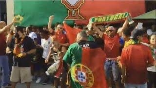 Fans Celebrate Portugal