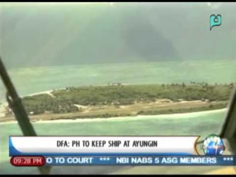 [NewsLife] DFA: PH to keep ship at Ayungin Shoal || Mar. 14, 2014