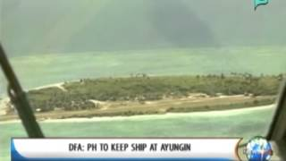[NewsLife] DFA: PH to keep ship at Ayungin Shoal || Mar. 14, 2014