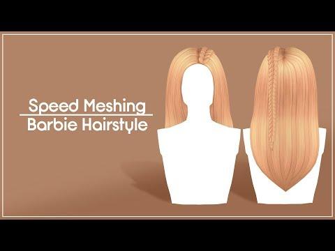 Speed Meshing Hairstyle