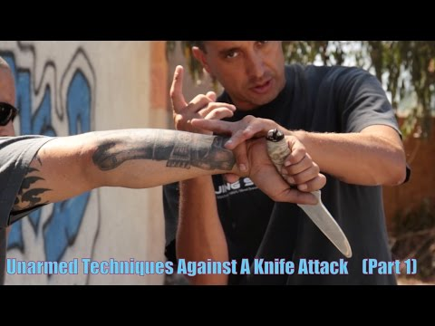Top 10 Methods of how to defend yourself when UNARMED Against A Knife Attack or Threat -  Part 1 en streaming