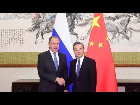 Chinese FM Wang Yi meets with Russian FM Lavrov in Beijing