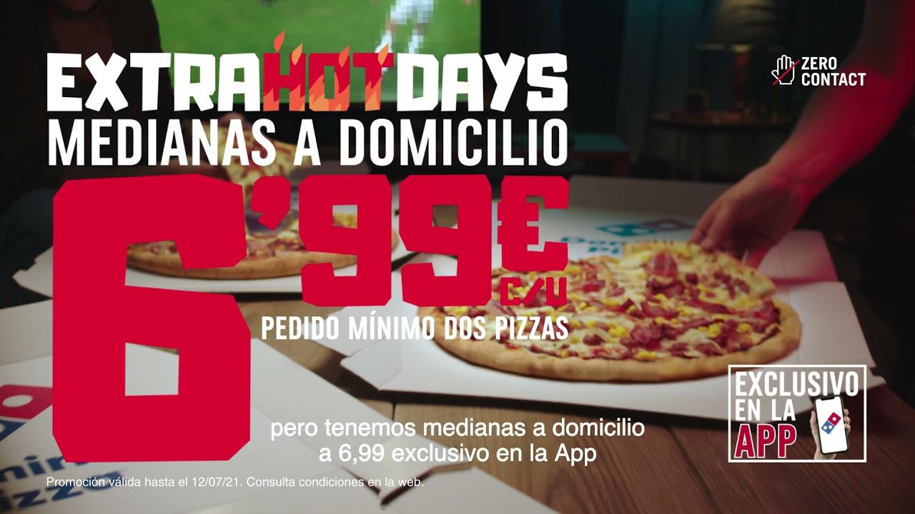 DOMINOS EXTRA HOT DAYS DERECHOS FUTBOL