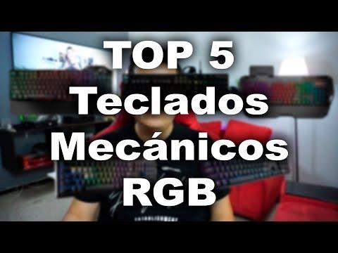 Top 5 Teclados mecánicos RGB de alta gama - Proto Hw & Tec