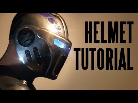 Bionic Armor: How to make the helmet