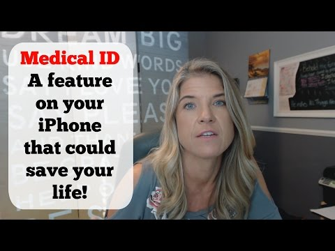 Medical Id for iPhone - This feature could save your life