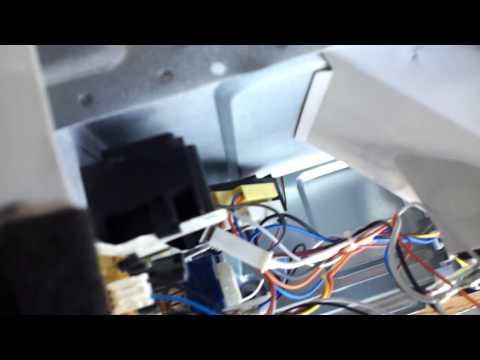 How To Fix Bad Closing Door Latch Panasonic Microwave Oven