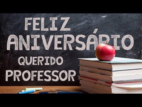Mensagem De Aniversário Para Professor