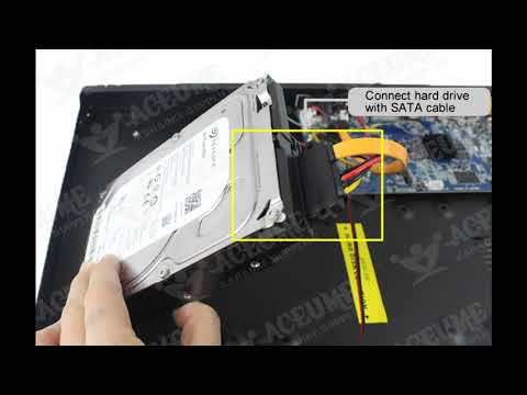 ACEUME-How to install hard drive to AK1C/AK2C/AK3C Karaoke Player
