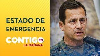 General Iturriaga adelantó toque de queda en Santiago - Contigo en La Mañana