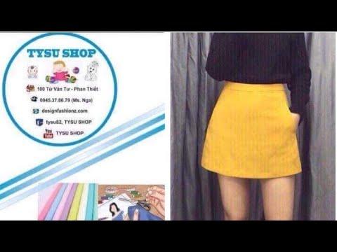 497_thiết Kế Váy A|dạy cắt may online miễn phí | sewing online class free | tysushop