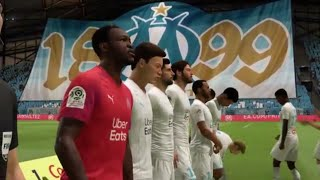 FIFA 20 Ligue 1| Olympique de Marseille Vs Olympique Lyonnais |Great Atmosphere