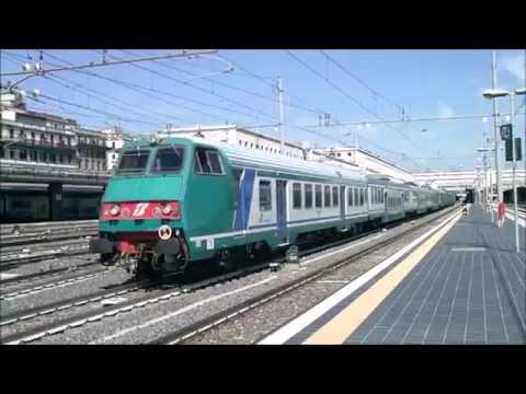 IT#30 - Tutti treni della stazione di Roma Termini: FR FB FA Italo REG LXP IC ICN EN - 18/05/16