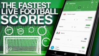 CrowdScores App - Live Football Scores - Available free on iOS & Android