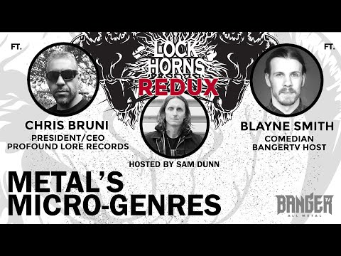 METAL'S MICROGENRES | Lock Horns Redux – Episode 10 episode thumbnail