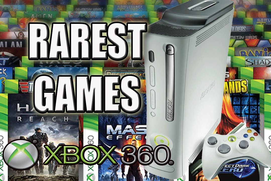 Top 10 Rarest Xbox 360 Games   Most Valuable Xbox 360 Games   YouTube