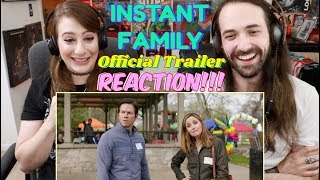 INSTANT FAMILY (2018) - Official Trailer REACTION & REVIEW!!!