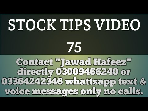 Stock tips video 75