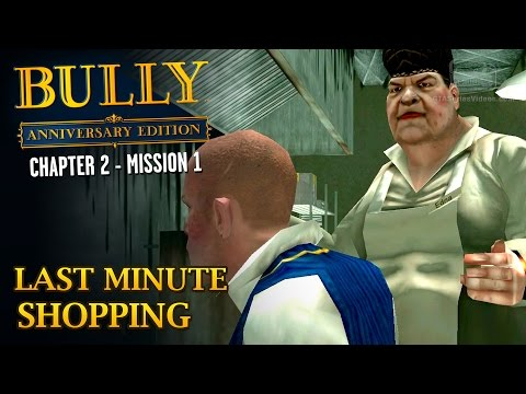 Bully: Anniversary Edition - Mission #15 - Last Minute Shopping