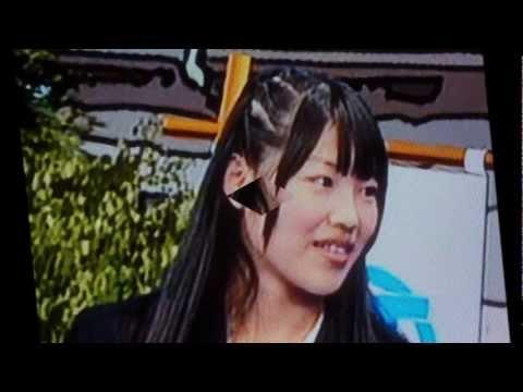 """ふたりは友達......林寛子さんです。(""""でらSKE48""""でイメージです)。"""