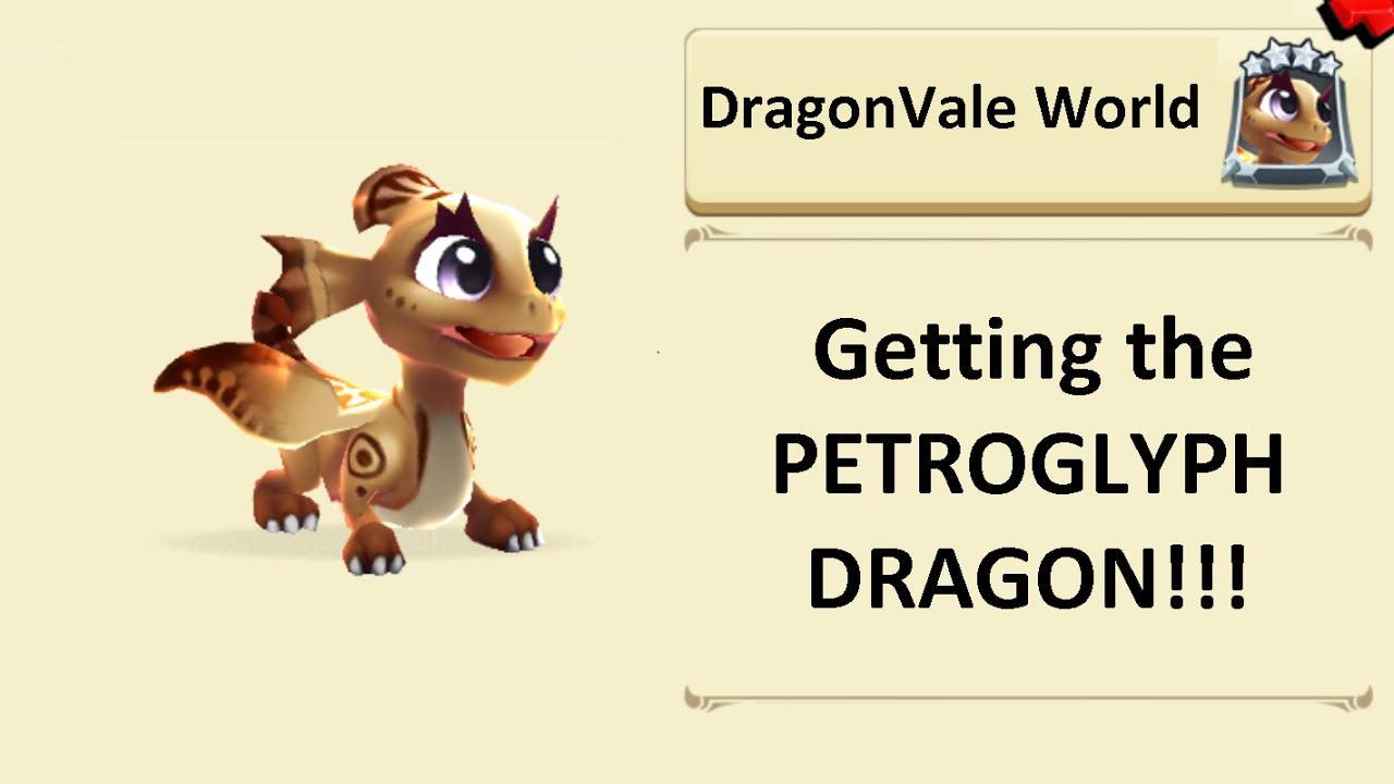 Getting the Petroglyph dragon in DragonVale World