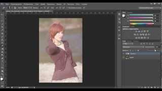 Уроки фотошопа. Обработка фотографии в нежно-розовых тонах