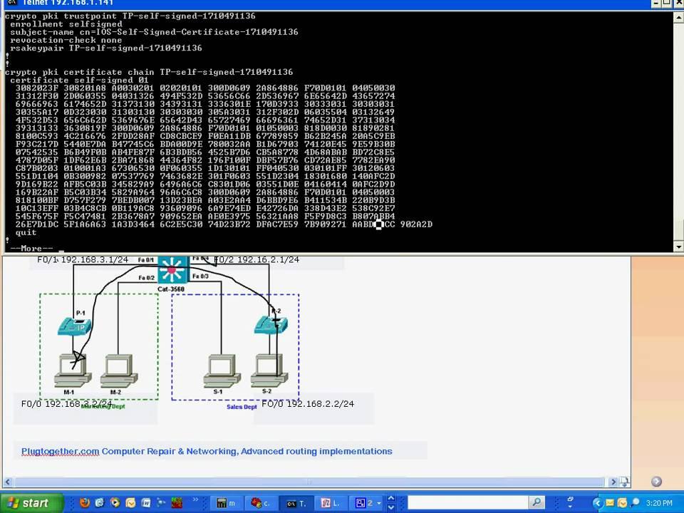 Cisco Layer 3 switching