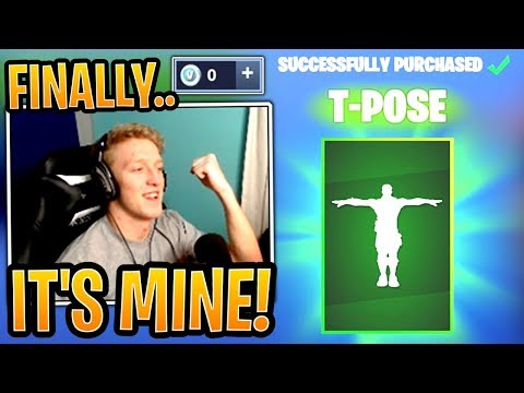 Tfue Spends His LAST V-Bucks On His Favorite Emote, The