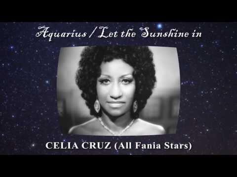 Aquarius / Let the Sunshine in - CELIA CRUZ & TITO PUENTE - All Fania Stars (SALSA)